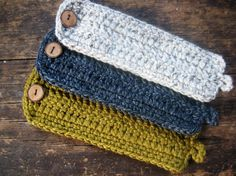 Chunky Crochet Coffee Cozy
