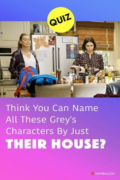 This trivia quiz will test your knowledge on how well you recognize all the Grey's Anatomy character's homes. #greyshair #greysanatomyhouse #greyshouses #greysanatomyhouse #housesofgreys #greysscene #greys House Quiz, Callie Torres, Arizona Robbins, Derek Shepherd, Cristina Yang, Trivia Quiz, Meredith Grey, Grey's Anatomy, Quizzes