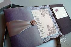 Asian Fusion Weddings   Luxurious Lace Wedding Invitations