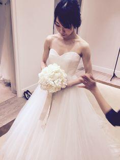 dress fitting♡②