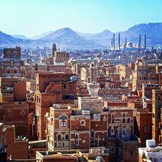 صنعاء، اليمن Sanaa, Yemen By @7madzz