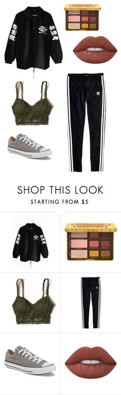 """""""a r i z o n a"""" by local-jewish-boy on Polyvore featuring Hollister Co., Madewell, Converse and Lime Crime"""