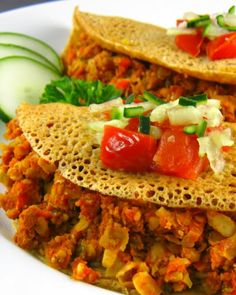Basic Indian Dosa Crepe Recipe - oil free  gluten-free-  use rice flour or buckwheat flour instead  add ground flax