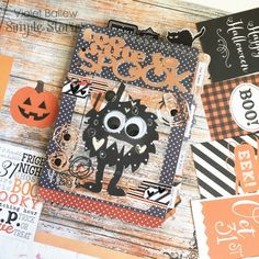 Happy Haunting Simple Set from creative team member Violet Ballew