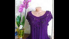 вязание платьев от ванессы монторо - YouTube