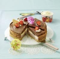 Recipe for Layered Cheesecake