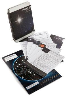 Name A Star Gift Kit