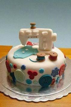 Sewing Fondant Cake