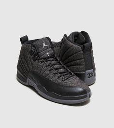 3e4da478d4d4 NEW Nike Air Jordan 12 Retro XII Wool Dark Grey Metallic Silver Black  852627-003