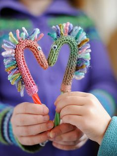 Ravelry: Project Gallery for Candy Cane Pony from Hollinger's Fiber Farm pattern by hakucho