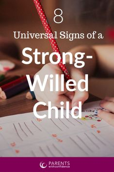 Universal Truths Of Parents Who Are Raising A Strong-Willed Child Here are 8 signs you're raising a strong willed child. If you agree with most of these your days are most likely filled with the ups and downs of parenting a strong willed child. Positive Parenting Solutions, Parenting Advice, Difficult Children, Strong Willed Child, Mindfulness For Kids, Strong Family, Positive Discipline, Parenting Toddlers, Parent Resources