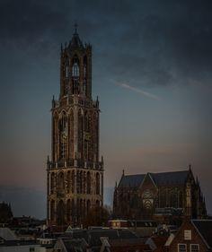 Nieuw in mijn Werk aan de Muur shop: De Dom Utrecht