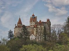Bran (a.k.a. Dracula's Castle) in Transylvania was the 15th-century home of Prince Vlad Tepes. He punished invaders by piercing them with wooden stakes, earning the name 'Vlad the Impaler.'