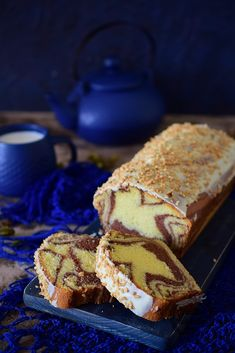 Polish Recipes, Polish Food, Marble Cake, Raspberry Cheesecake, Tiramisu, Oreo, French Toast, Food And Drink, Sweets