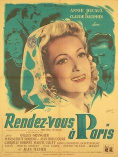 Affiche : Rendez-vous à Paris in DVD, cinéma, Objets de collection, Affiches, posters | eBay #chrisdeparis 110€