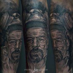 Heisenberg   Tattoo artist: Pedro Müller @pedromullerart
