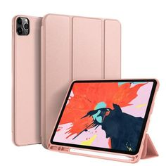 For iPad Pro 11 Inch 2020 PU Leather Anti-scratch Flip Stand Tablet Case Cover Best Ipad, New Ipad Pro, Ipad Pro 12 9, Funda Ipad Pro, Accessoires Ipad, Cute Ipad Cases, Coque Iphone, Iphone Accessories, Apple Products