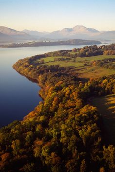 50 natural destinations which should always be fall - Trossachs (Scotland): Enchanted Lands