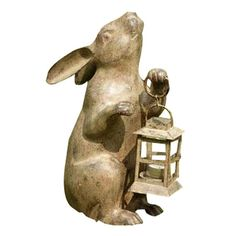 Found it at Wayfair - Rabbit Lantern