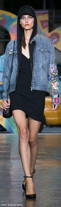 #NYFW DKNY Spring 2014 RTW - Donna Karan takes streetstyle mainstream www.nytimes.com/...