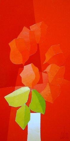 Original acrylic on canvas painting by Stephane Bulan - Paris Art Web Drawn Fish, Art Web, Paris Art, Seascape Paintings, Gravure, Figure Painting, Art Techniques, Art Studios, Online Art Gallery