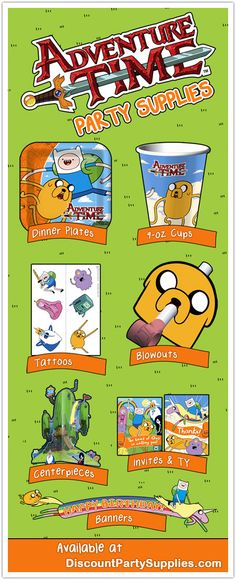 Adventure Time Party Supplies Coming This Fall!