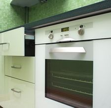 how to deep clean a self cleaning oven