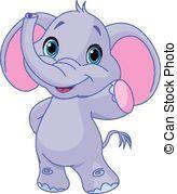 Elefante clipart vector almacen de fotos e imágenes