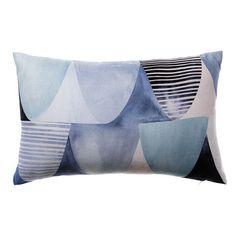 Riviera Scallop Ocean Long Cushion