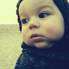 Winter day at the beach...