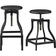 Cool Barstools On Pinterest Crate And Barrel Backless