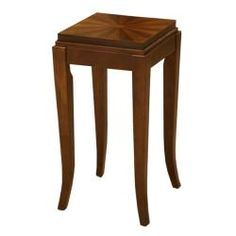 @Overstock - A sunburst walnut-finished inlay highlights the cherry chocolate top of this Barclay side table. Designed to blend with any existing decor, this table is finished with Art Deco-esque curved legs.http://www.overstock.com/Home-Garden/Barclay-Cherry-Chocolate-Walnut-Inlay-Side-Table/6102085/product.html?CID=214117 $67.99