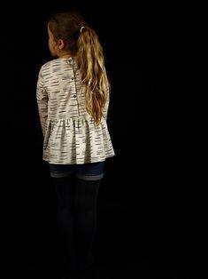 Camélice à froufrous - batiste Chalk Off White d'Atelier Brunette