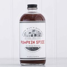 Poor Man's Kitchen's pumpkin spice syrup makes your DIY Pumpkin Spice Latte routine cheaper and easier.