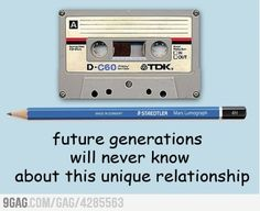 I remember using a pencil to manually rewind stuck tapes.  :/