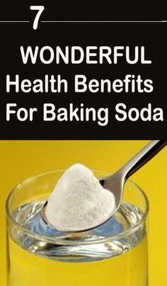 Wonderful Health Benefits For Baking Soda