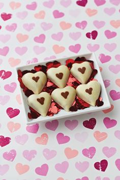 Love is in the air with these romantic Passion Fruit Hearts. Would you prefer to give or receive such a sweet treat?