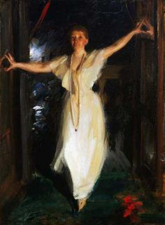 Isabella Gardner by Anders Zorn