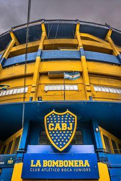 La Bombonera Boca Juniors Stadium in  La Boca Buenos Aires, Argentina