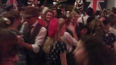 London Nightlife Goes Retro With Swinging Blitz Parties.  London nightlife travel tips