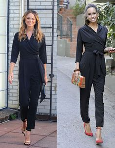 Celebrity Style Bargain: Stacy Keibler, Louise Roe in Kohls Jumpsuit - The Budget Babe