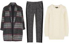 Get the look: Topshop coat, $156, topshop.com; Rebecca Taylor pants, $325, rebeccataylor.com; DKNY sweater, $295, net-a-porter.com. #InStyle