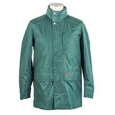 Green Zandvoort Rain Jacket - Suixtil