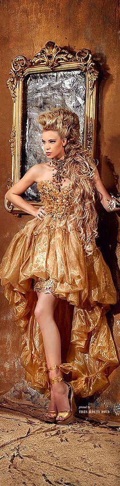 Sparkle Brighter Darling:  Fouad Sarkis Couture ♔ Tres Haute Diva.