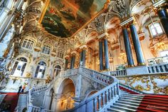 Ermitage, scalinata centrale