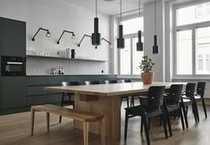 Designed by Studio Joanna Laajisto, Fjord Helsinki is the rare office with the feel of a home. That is, of course, intentional, as the space. Deco Design, Küchen Design, House Design, Global Design, Design Ideas, Interior Design Courses, Modern Interior Design, Kitchen Dining, Kitchen Decor
