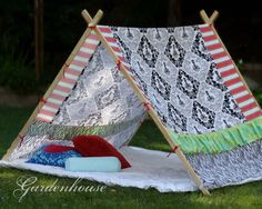 Bryant Park Tent Frame - A custom made tent for girls or boys.. $40.00, via Etsy.