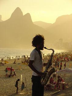 I LOVE RIO! Cena Carioca by Cristiano Monteiro, Ipanema Beach, Rio de Janeiro, Brazil via Flickr