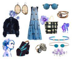 """46"" by besspredely-da on Polyvore featuring мода, Natasha Zinko, Marni, Chanel, Diane Kordas, Matthew Williamson, Jiya и 3.1 Phillip Lim"