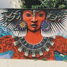 Street art swooning. #myartfulventure #sanfrancisco #streetart #artfulventure